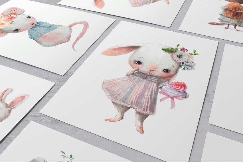 Plakaty dla dzieci kolekcja romantic